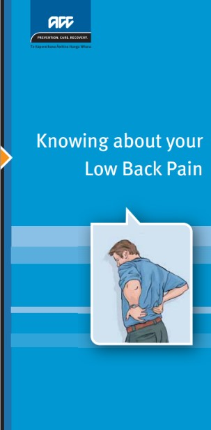 Knowing about your low back pain